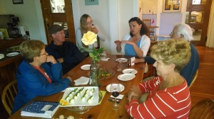 Om August 15th, Laura met with voters from the district at the Readsboro Inn while enjoying delicious fare!