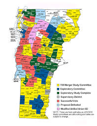 The Vermont School Boards Association maintains a map of progress with links to Act 46 study committees work around the state http://www.vtvsba.org/#!act-46-map/q4i59